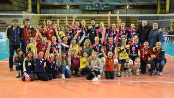 Odbojkašice Mladosti osvojile Kup Hrvatske