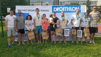 Prenc i Dolenec najbolji na drugom turniru Siget mix lige